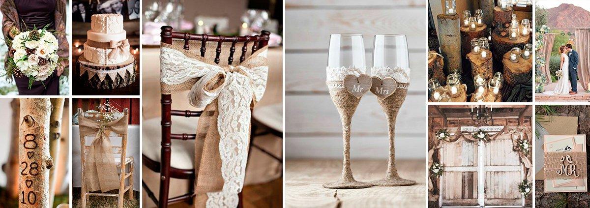 Оформление свадьбы в стиле рустик своими руками фото 77